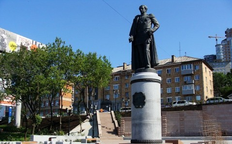 The Monument to Muravyov-Amursky